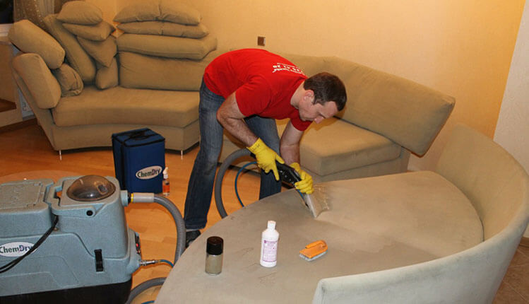 Химчистка (чистка) дивана на дому