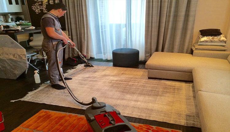 Химчистка (чистка) ковров паром