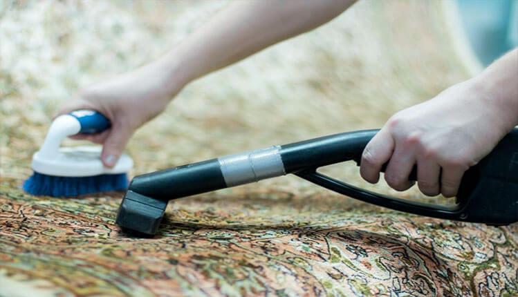 Химчистка (чистка) шелковых ковров