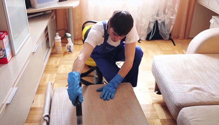 Химчистка (чистка) мебели на дому