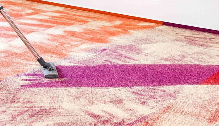 Сухая химчистка (чистка) ковров