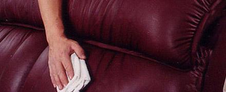 Химчистка дивана из экокожи