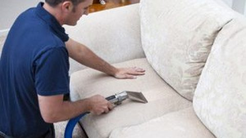 Чем почистить диван из флока